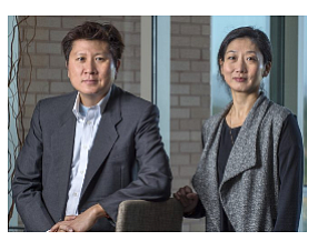 UCI professors Kyung Hyun Kim and Eleana Kim
