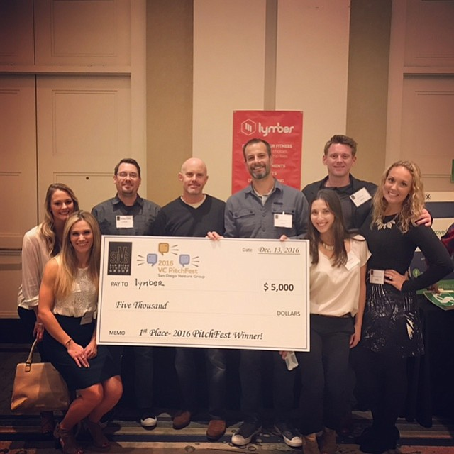 Local startup Lymber won first place in the technology category, while Sun Genomics won in the life science category. Photo courtesy of Lymber.