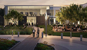 Photo of the potential 101,000 square feet of office space and a 3.2-acre land parcel in Costa Mesa courtesy of SteelWave.