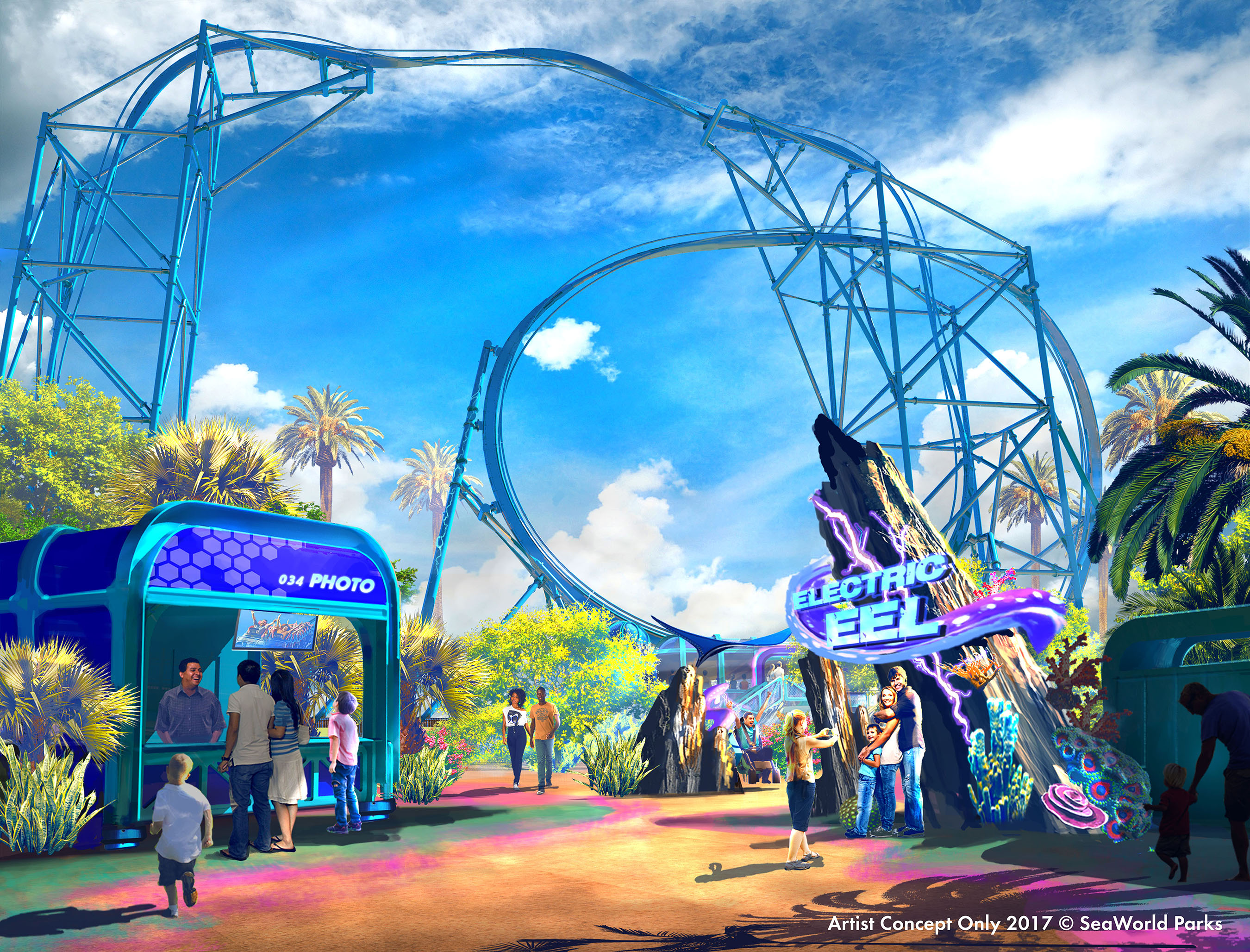 New Seaworld San Diego Coaster Set To Open In 2018 San Diego Business Journal