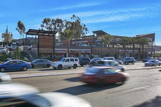 Scripps Mesa Retail Center in Scripps Ranch – Photo courtesy of CBRE Group Inc.