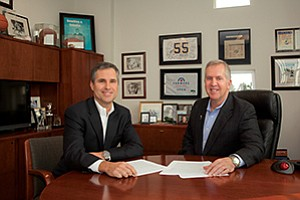Dowling & Yahnke LLC partners Mark Muñoz, chief operating officer, at left, and Dale Yahnke,  co-founder and CEO, say being straight with clients about their disciplined investing style and hiring well-credentialed talent have been the company's keys to success.