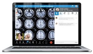 Virtual Visit: SnapMD's online platform.