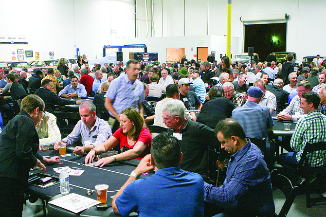 More than 250 players participated in the 6th Annual Texas Hold 'Em Poker Tournament to benefit the Boys & Girls Clubs of Carlsbad. Photo courtesy of the La Costa 35 Athletic Club