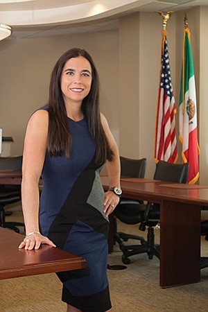Paola Avila, vice president of international business affairs and leadership development for the San Diego Regional Chamber of Commerce, believes an open dialogue and exchange of ideas will help the Trump administration understand the value of the North American Free Trade Agreement.