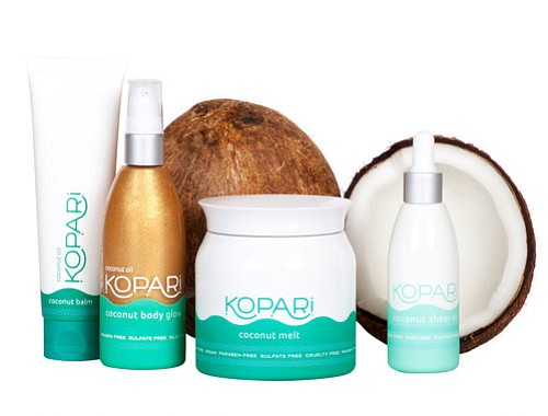 San Diego-based Kopari Beauty makes organic coconut oil-based beauty products. Photo courtesy of Kopari Beauty.