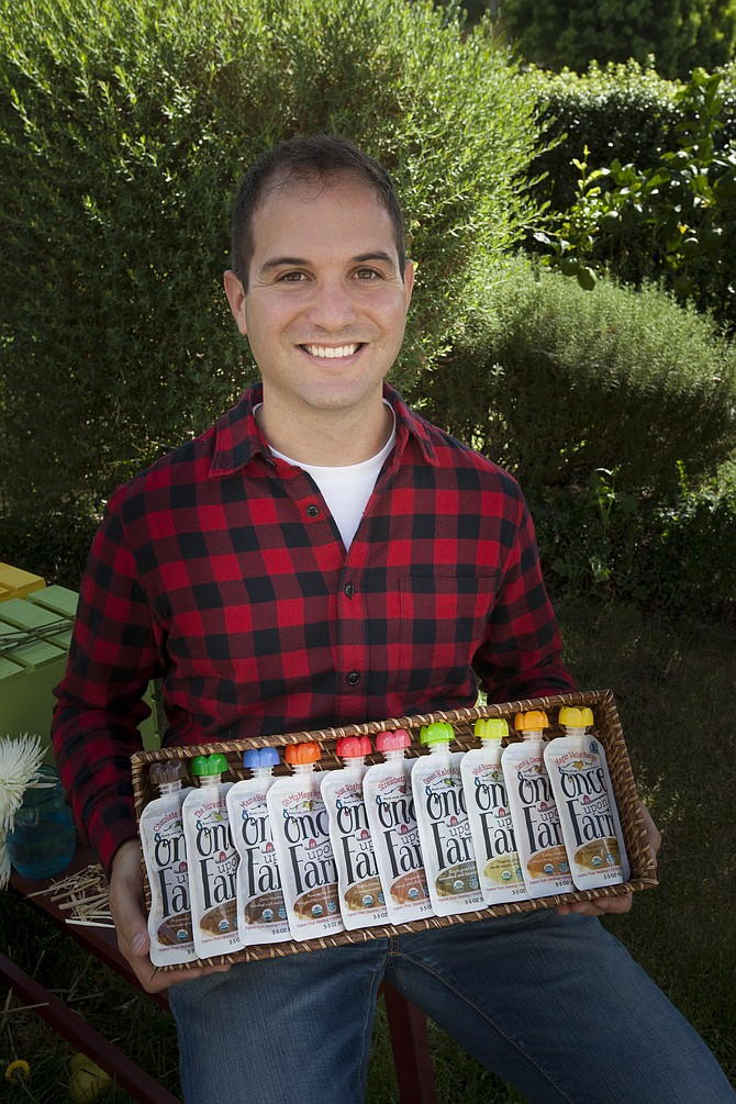 Ari Raz, co-founder and CEO of Once Upon a Farm -- Photo courtesy of Once Upon a Farm