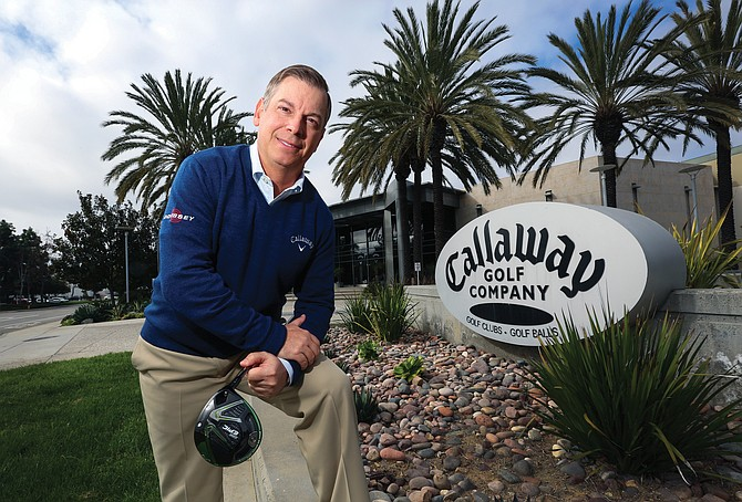 Callaway Golf Co. CFO Robert Julian says the Carlsbad company sees growth on the periphery of golf.