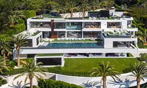 Storied Attraction: Residental developer Bruce Makowsky has listed the 924 Bel Air Road estate for $250 million, including a $30 million car collection on the first floor.