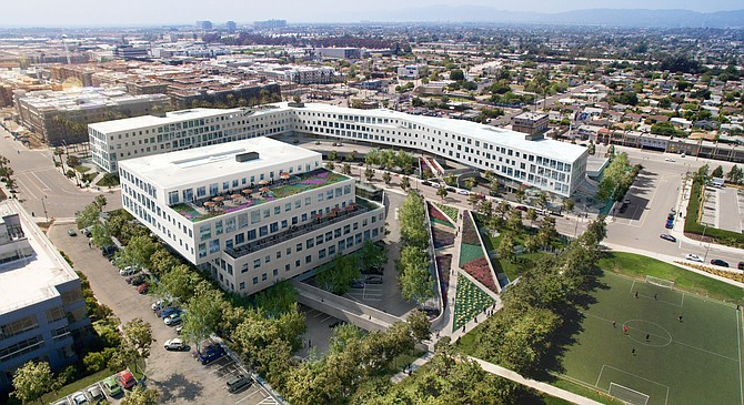 Loyola Marymount has signed a 12-year lease at the Brickyard office building in Playa Vista.