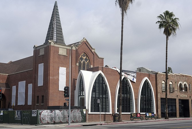 East Hollywood church acquired in 2014 for $3.7 million. Photo by Ringo H.W Chiu/LABJ