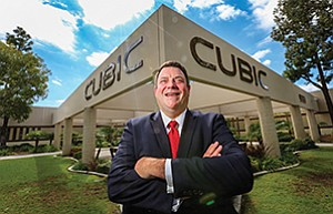 Mike Twyman oversees Cubic Corp.'s growing Mission Solutions business.