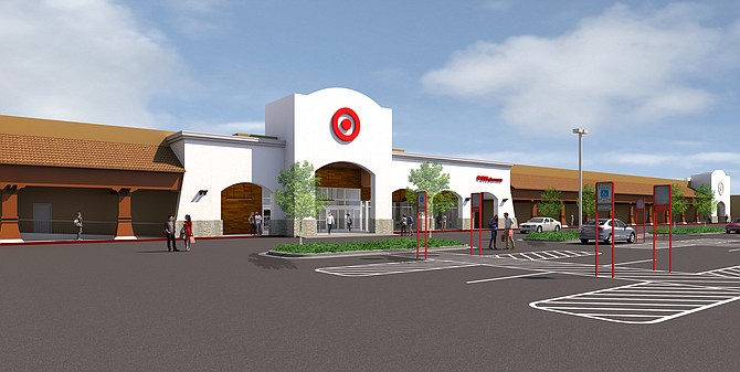 This new Oceanside Target is slated to open this fall -- Rendering courtesy of Target Corp.