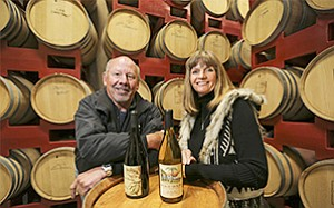 Wineries are alive and well in San Diego County, say George and Kim Murray, owners of Beach House Winery in Oceanside; it's time to promote them.