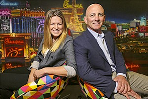Kelsey McCormick, left, and Aaron Gaeir of Grandesign are big-wave riders of marketing, creating experiences that pull in other people and platforms into the creative mix of the campaign.