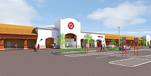 Target's plans for a second store in Oceanside (shown here) and 22nd in San Diego County show that not all retailers are in brick-and-mortar pullback mode.Rendering courtesy of Target Corp.