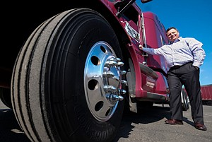 Loaded Subject: Greg Dubuque at Liberty Linehaul West in Montebello.