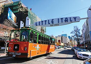 Little Italy has become the poster child of redevelopment success over the last decade and continues to build on that momentum with the Piazza della Famiglia pedestrian plaza.