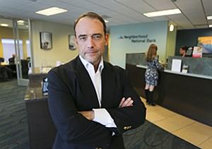 Stephen Taylor, led a $6.4 million recapitalization of Neighborhood National Bank.