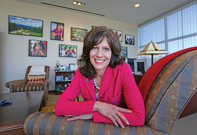 Susan Salka, CEO of AMN Healthcare, said a string of acquisitions will allow the nation's largest medical staffing company to become a one-stop shop.