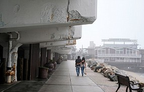 Pier Pressure: Redondo Beach's aging waterfront has faded as a tourist attraction.