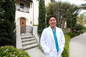 Connecting Clients With Homes: Anesthesiologist Dr. Peter Kim in Playa Vista.