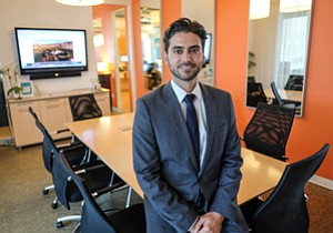 Executive Action: Partners Trust broker Erfan Haj has had clients ditch deals.