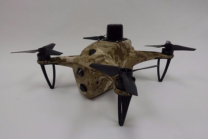Shield AI's Autonomous Drone. Photo courtesy of Shield AI.