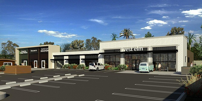 212 s cedros ave rendering courtesy of cbre group inc - West Elm Store