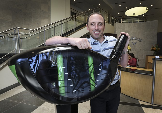 Alan Hocknell, the Callaway's senior vice president of research and development, says the company is always pursuing innovation. -- Jamie Scott Lytle