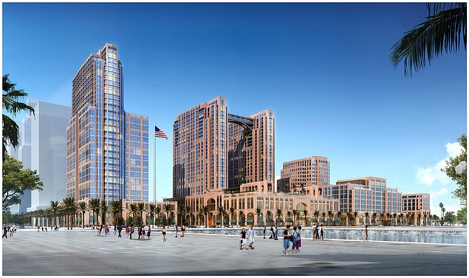 Manchester Pacific Gateway – Rendering courtesy of Manchester Financial Group