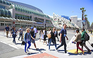 The San Diego Convention Center seems to be doing well without the proposed physical expansion.