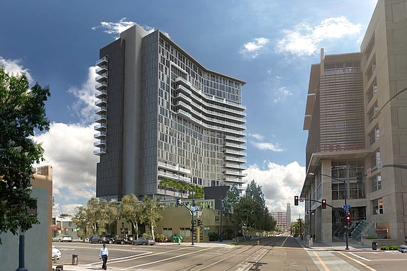 K1 in downtown San Diego -- Rendering courtesy of The Richman Group of California
