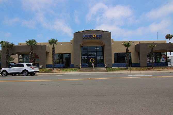 Silver Strand Plaza at 600 Palm Ave. -- Photo courtesy of NAI Capital