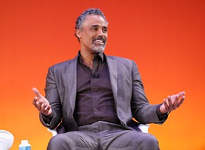 Game On: Ex-Laker Rick Fox speaks at an Advertsing Week panel in September.