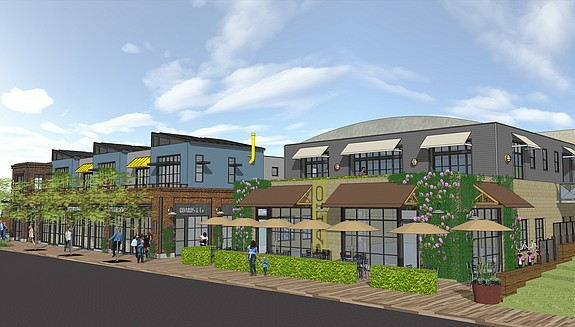 Project planned for 330 S. Cedros Ave. -- Rendering courtesy of RAF Pacifica Group