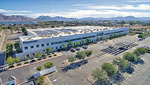 Big industrial property deals of the first quarter included Murphy Development's purchase of this Otay Mesa property from Panasonic Corp., for $27.7 million. Photo courtesy of Murphy Development