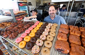 Sprinkled In: Mark Kelegian is looking to expand 64-year-old Randy's Donuts, which is known for the large doughnut on its roof.
