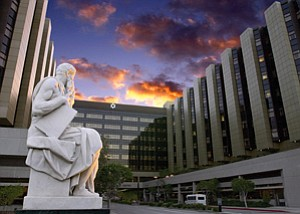 Cedars-Sinai Medical Center in Beverly Grove.