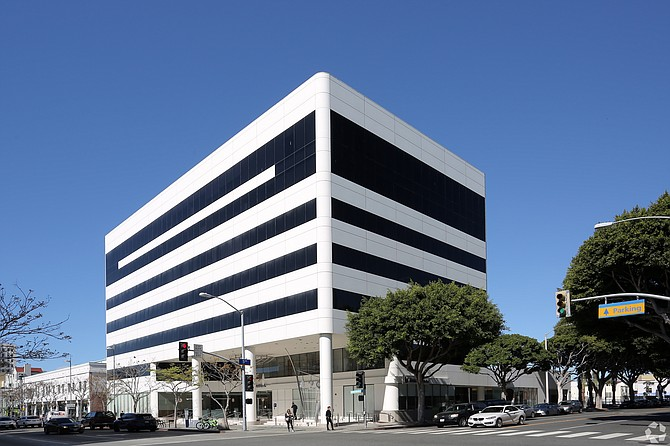 This office building at 429 Santa Monica Blvd. in downtown Santa Monica sold for $104.8 million.