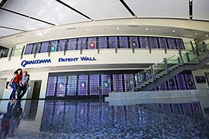 It's hard to miss the two-story patent wall in Qualcomm Inc.'s headquarters lobby. Qualcomm has 130,000 patents issued or pending. The bulk of the corporation's earnings flow from other companies paying Qualcomm for permission to use its intellectual property.