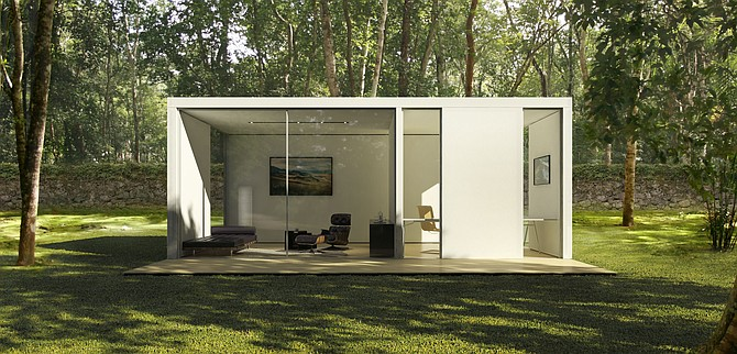 Cover Technologies Inc., a prefab building company that designs and manufactures backyard studios.