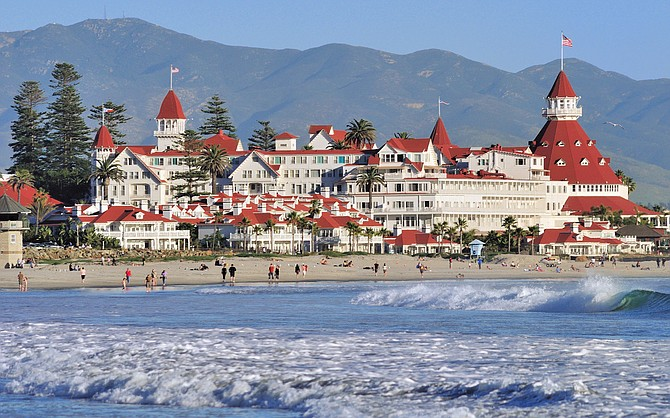 Hotel del Coronado -- Photo courtesy of the Hotel del Coronado