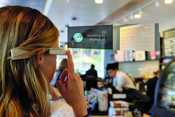 Aira's technology pairs blind or low vision users with virtual agents who help users navigate everyday life - Photo courtesy of Aira