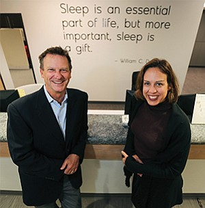 Sleep Data's CEO David French and President Bretton Hevener are optimistic about expanding their market share in San Diego and elsewhere. The company recently moved its headquarters to a 16,000-square-foot facility in Kearny Mesa. According to Sleep Data, the company grossed $12 million in revenue last year.