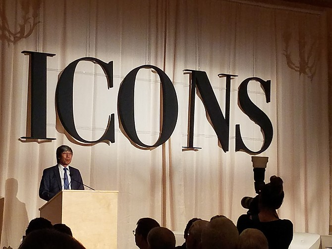 Patrick Soon-Shiong at the Business Journal's Icons event at Montage Beverly Hills. Photo by Paul Eakins/LABJ