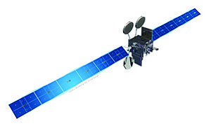 ViaSat-2, which launches June 1, is based on this standard Boeing satellite model. Photo courtesy of ViaSat