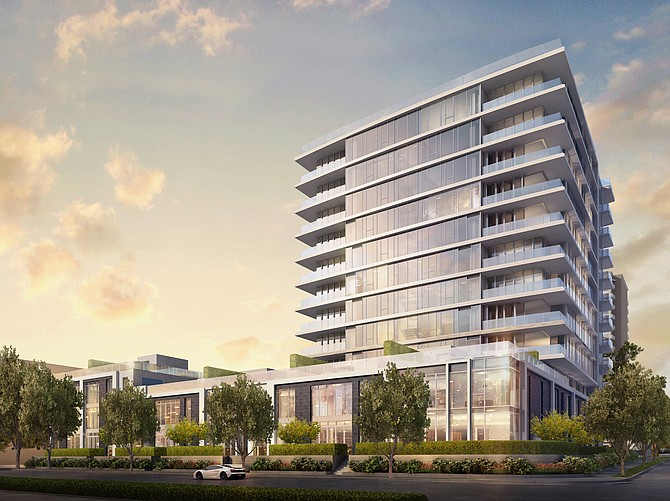 Four Seasons Residences is being built near Beverly Hills.
