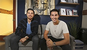 Original Grain's founders Andrew Beltran, left, and his brother, Ryan Beltran saw their watch business grow once they brought on strategic partners with experience in starting companies.