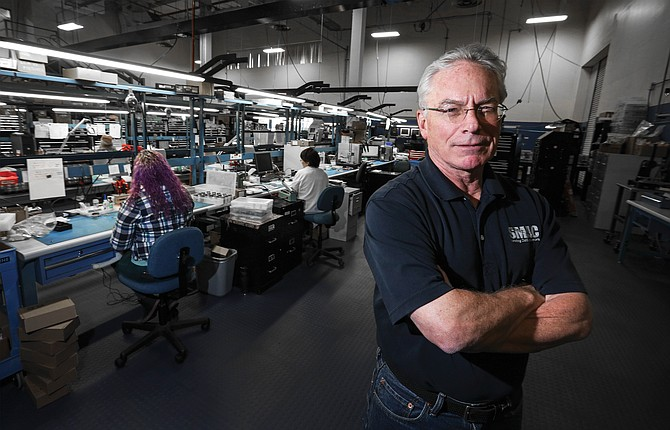 CEO Ed Neff says the $5,000 price point of SMAC Corp.'s new robotic finger could be disruptive in the manufacturing industry and help grow the firm's annual revenue from more than $50 million to as much as $250 million.